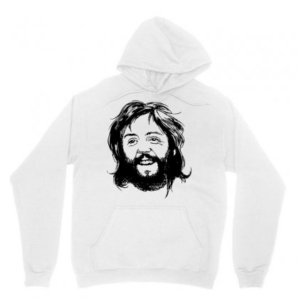 Paul Mccartney Beard Unisex Hoodie Designed By Motleymind