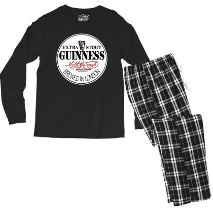 Gilmour Guinness Men's Long Sleeve Pajama Set Designed By Motleymind