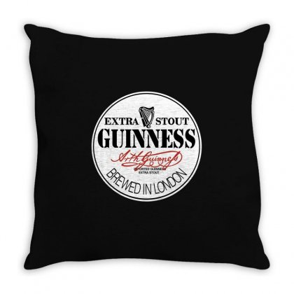 Gilmour Guinness Throw Pillow Designed By Motleymind