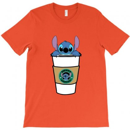 Ohana Coffee T-shirt Designed By Nurbetulk