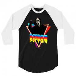 scream 3/4 Sleeve Shirt | Artistshot