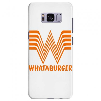 Whataburger Samsung Galaxy S8 Plus Case Designed By Parashiel