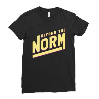 Beyond The Norm Sam Golbach Ladies Fitted T-shirt Designed By Sengul