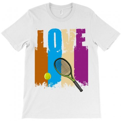 Life Tennis T-shirt Designed By Wizarts
