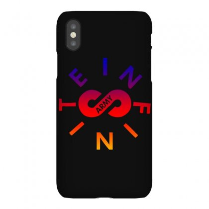 Infinite Lists Army Rainbow Iphonex Case Designed By Sengul