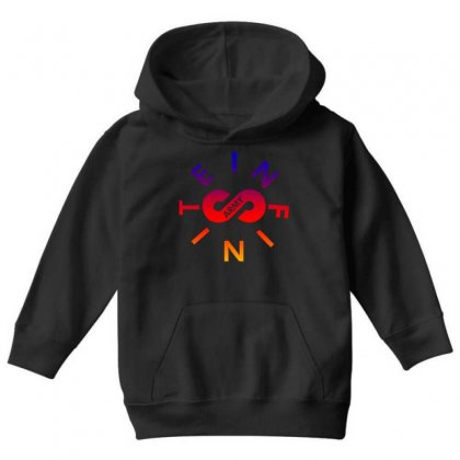 Infinite Lists Army Rainbow Youth Hoodie Designed By Sengul