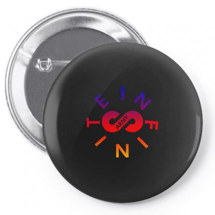 Infinite Lists Army Rainbow Pin-back Button Designed By Sengul