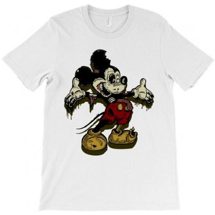 Mouse Zombie T-shirt Designed By Paverceat