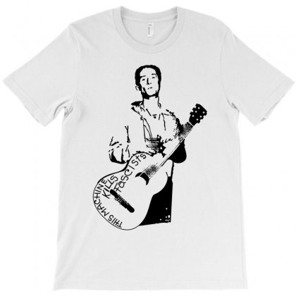 Woody Guthrie Machine T-shirt Designed By Paverceat