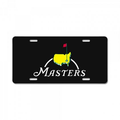 The Masters License Plate Designed By Paverceat