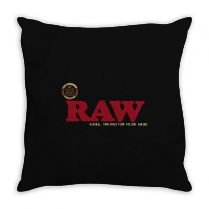 Raw Papers Throw Pillow Designed By Paverceat