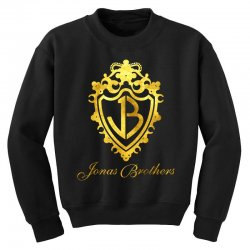 jonas brothers symbol gold Youth Sweatshirt | Artistshot