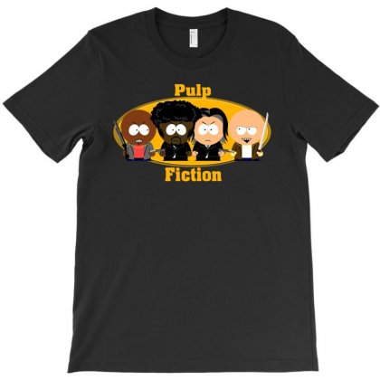 Pulp Fiction South Park T-shirt Designed By Bamboholo
