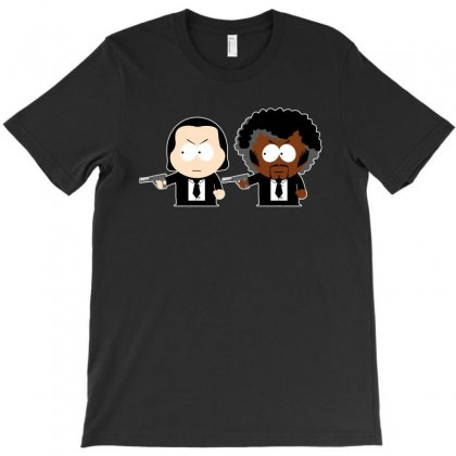 South Park  Pulp Fiction T-shirt Designed By Bamboholo
