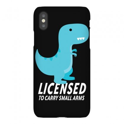 Licensed To Carry Small Arms Iphonex Case Designed By Bamboholo