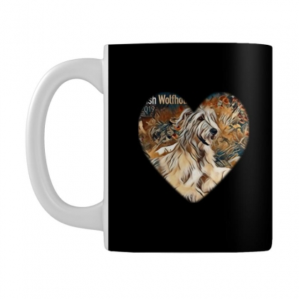 Irish Wolfhound Dog Mug Designed By Kemnabi