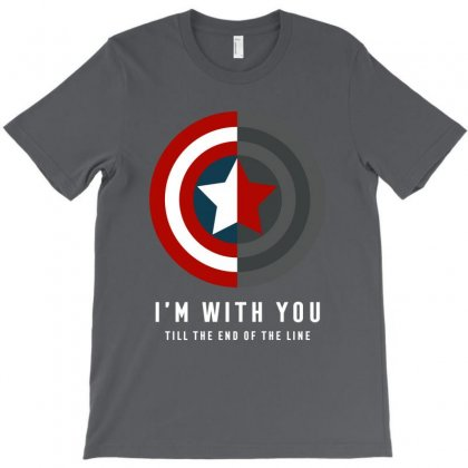 I'm With You Till The End Of The Line T-shirt Designed By Toweroflandrose