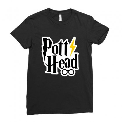 Potter Head Ladies Fitted T-shirt Designed By Nurbetulk