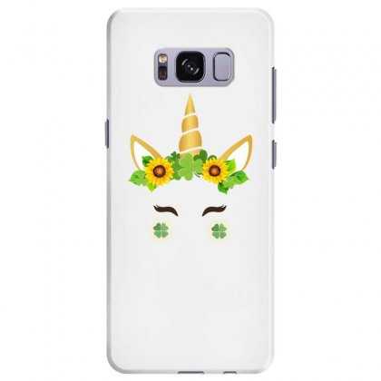 St Patrick's Unicorn Face Samsung Galaxy S8 Plus Case Designed By Party