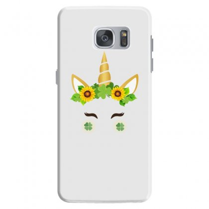 St Patrick's Unicorn Face Samsung Galaxy S7 Case Designed By Party