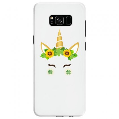St Patrick's Unicorn Face Samsung Galaxy S8 Case Designed By Party