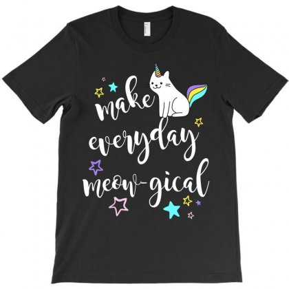 Make Everyday Meowgical T-shirt Designed By Party