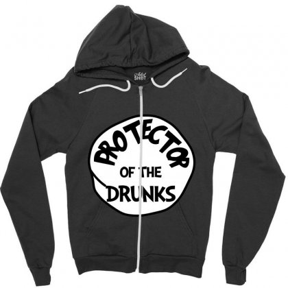 Protector Of The Drunks St Patrick Day - Funny Friends T-shirt Zipper Hoodie Designed By Party