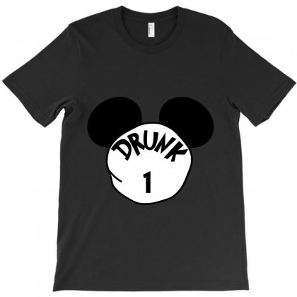 Drunk 1 Ears Drunk 1 St Patrick Day - Funny Friends T-shirt Drunk 1 T-shirt Designed By Party