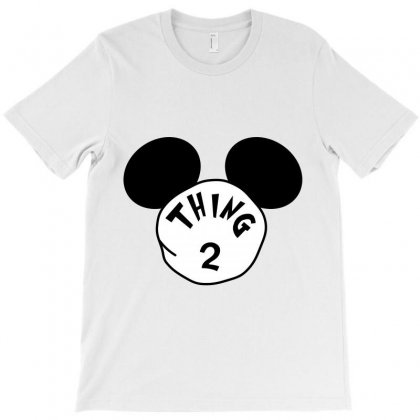 Thing 2 Ears T-shirt Designed By Party