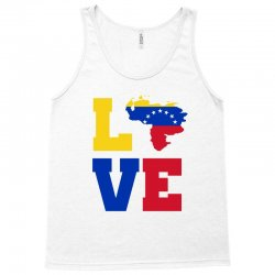 love Venezuela map tricolor Tank Top | Artistshot