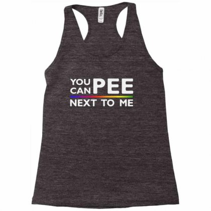 You Can Pee Next To Me Racerback Tank Designed By Vr46