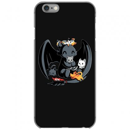 Toothless And Cats Iphone 6/6s Case Designed By Badaudesign