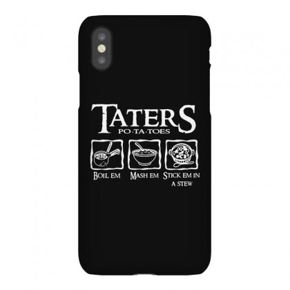 The Lord Of The Rings Taters Potatoes Recipe Iphonex Case Designed By Vanode Art