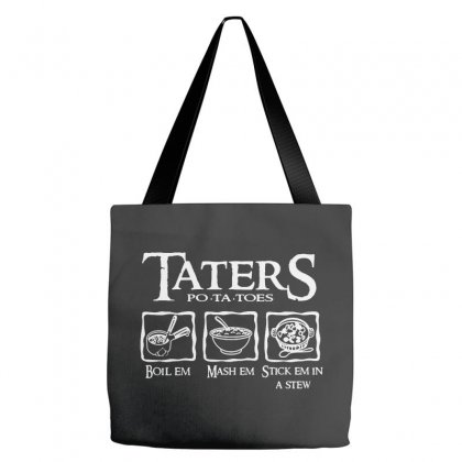 The Lord Of The Rings Taters Potatoes Recipe Tote Bags Designed By Vanode Art