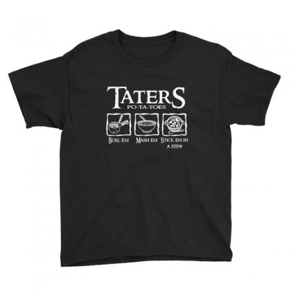 The Lord Of The Rings Taters Potatoes Recipe Youth Tee Designed By Vanode Art