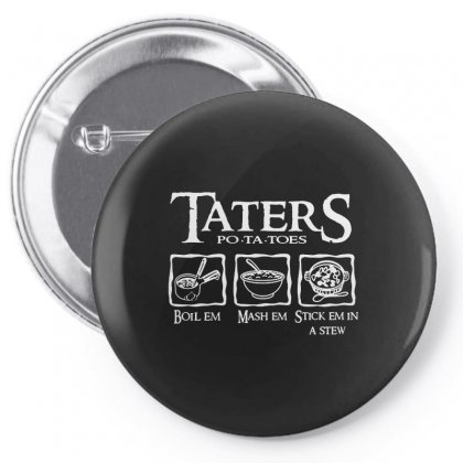 The Lord Of The Rings Taters Potatoes Recipe Pin-back Button Designed By Vanode Art