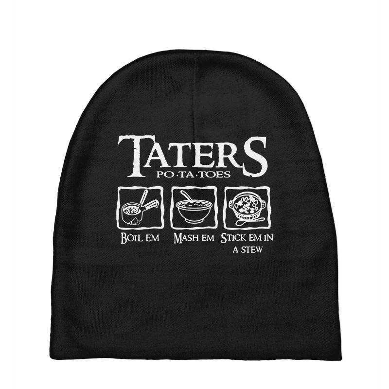 The Lord Of The Rings Taters Potatoes Recipe Baby Beanies | Artistshot