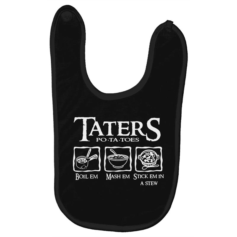The Lord Of The Rings Taters Potatoes Recipe Baby Bibs | Artistshot