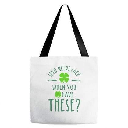 Who Neers Luck When You Have These? Tote Bags Designed By Ale C. Lopez
