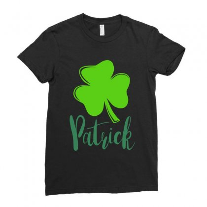 Patrick Ladies Fitted T-shirt Designed By Ale Ceconello