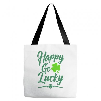 Happy Go Luck Tote Bags Designed By Ale C. Lopez