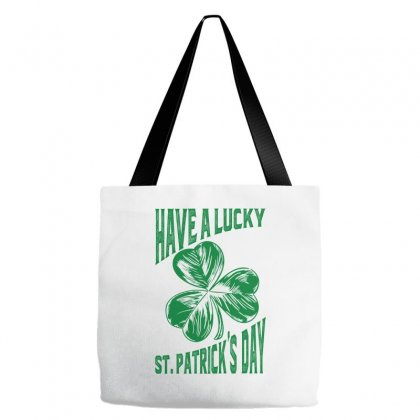 Have A Lucky St. Patrick's Day Tote Bags Designed By Ale C. Lopez