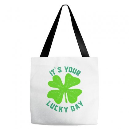 It's Your Lucky Day Tote Bags Designed By Ale C. Lopez
