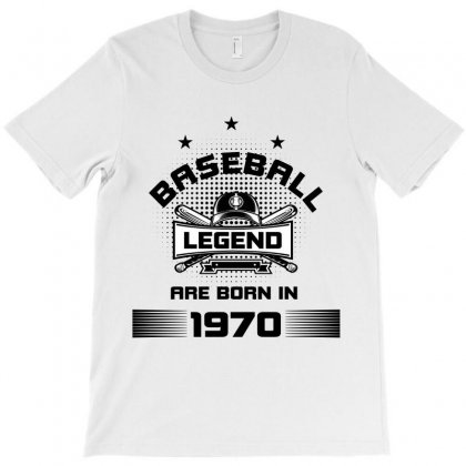 Baseball Legend Are Born In 1970 T-shirt Designed By Wizarts