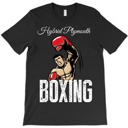 Hybrid Boxing Plymouth T-shirt Designed By Wizarts