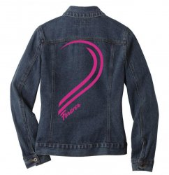 Love Forever For Her Ladies Denim Jacket | Artistshot