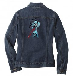 music till i die Ladies Denim Jacket | Artistshot