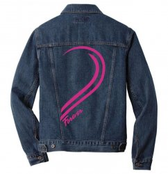 Love Forever For Her Men Denim Jacket | Artistshot