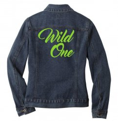 Wild One Ladies Denim Jacket | Artistshot