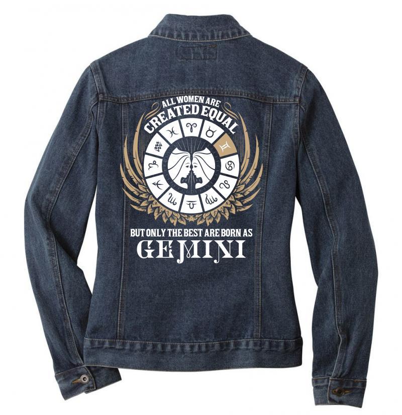 Gemini Women Ladies Denim Jacket | Artistshot